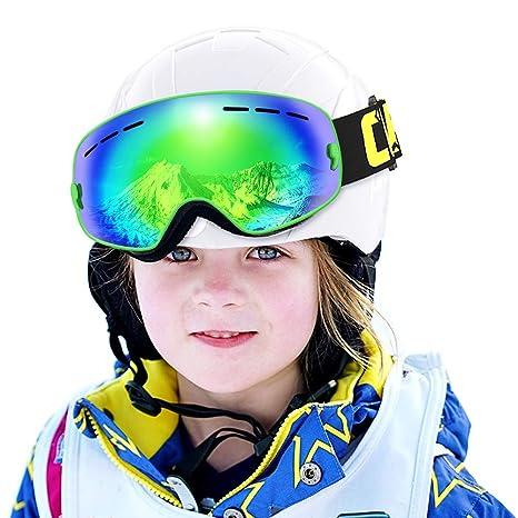 36e189dd42 COPOZZ Kids Ski Goggles