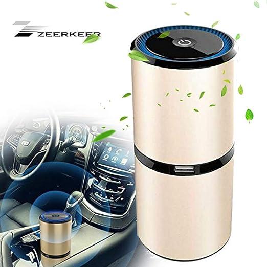 Zeerkeers purificador de aire, mini generador de ozono portátil ...