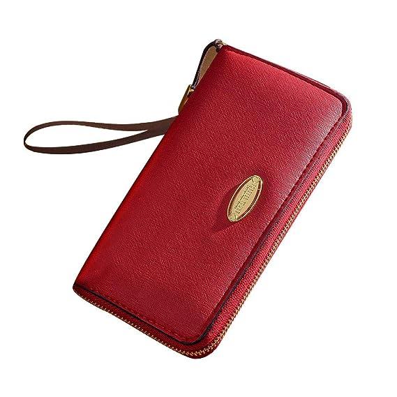 c1312e18d9f8 Amazon.com: Hattfart Front Pocket Minimalist Slim Wallet Genuine ...
