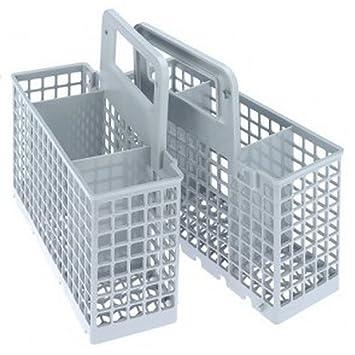 Spares2go Universal - Cesta de cubiertos para lavavajillas (jaula (6/3 compartimento extraíble): Amazon.es: Hogar