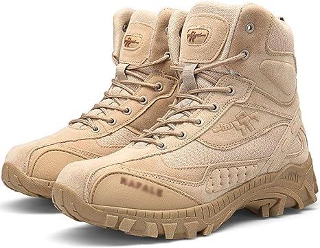 Wangxyan Botas Militares de Combate para Hombres Zapatos de ...