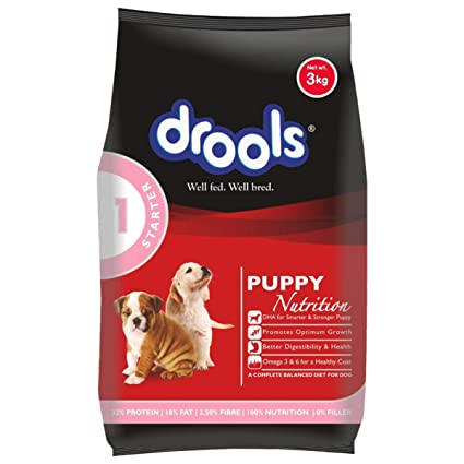 Buy Drools Puppy Starter Dog Food 3kg Online At Low Prices In India Amazon In