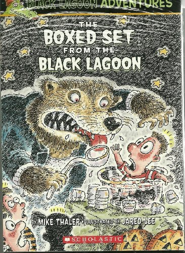 The Boxed Set From the Black Lagoon : (The Class Trip, The Talent Show, The Class Election, The Science Fair, The Halloween Party, The Field Day, The School Carnival, Valentine's Day) (Black Lagoon Adventures) -