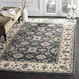 Safavieh Lyndhurst Collection LNH332T Traditional Oriental Teal and Cream Area Rug (5' 3'' x 7' 6'')