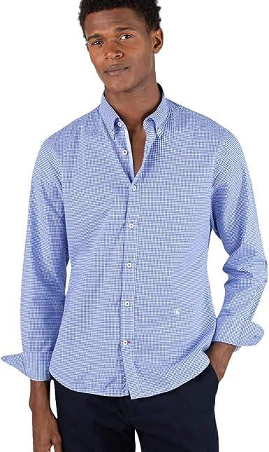 El Ganso Urban Iconic Camisa casual, Azul (Azul 0020), Medium para Hombre: Amazon.es: Ropa y accesorios