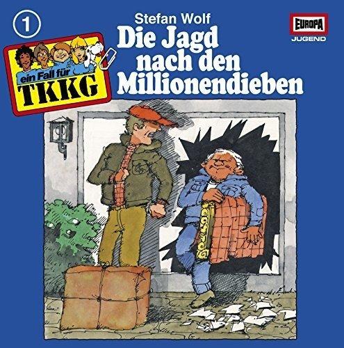 TKKG Folge 1 auf Vinyl - Die Jagd Nach Den Millionendieben [Vinyl LP] / Bild: Amazon.de