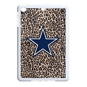 Qxhu Cowboys patterns Durable Rubber Silicon Case Cover for Ipad Mini