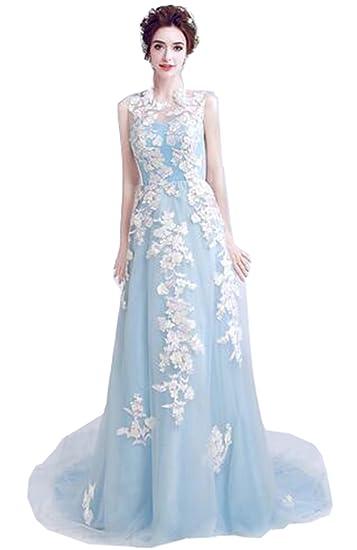 61e12a12e7e15 パーティードレス 高級感あふれる flower ドレス カラードレス 結婚式 イブニングドレス 披露宴 刺繍 マーメイド