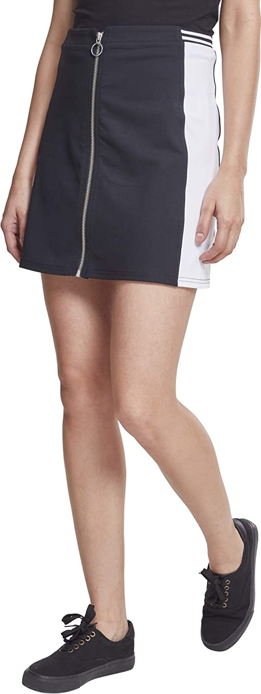 TALLA 42 (L). Urban Classics Ladies Zip College Skirt Falda para Mujer