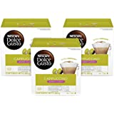 Nescafe Dolce Gusto Coffee Capsules, Skinny Cappuccino, 48 Single Serve Pods, (Makes 24 Cups) 48 Count, 16 Count (Pack…