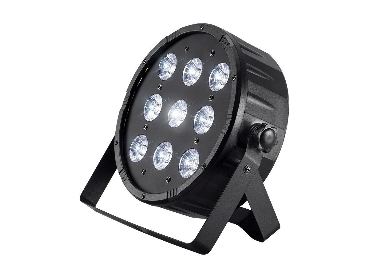 Monoprice 612749 10W X 9 LED Flat Par Stage Light (RGBW)