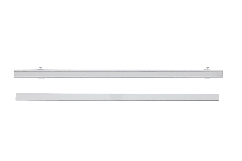 Garduna 1 St/ück 60cm Aluminium Paneelwagen Beschwerung # weiss # f/ür Fl/ächenvorh/änge Schiebegardinen Schiebewagen inkl