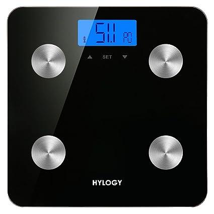 Grasa Corporal – Báscula, hylogy de análisis corporal de Smart Diagnóstico la medición de peso
