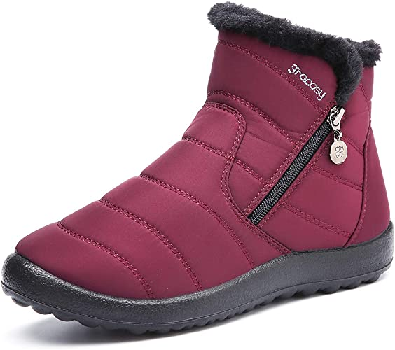 gracosy Womens Snow Boots Winter