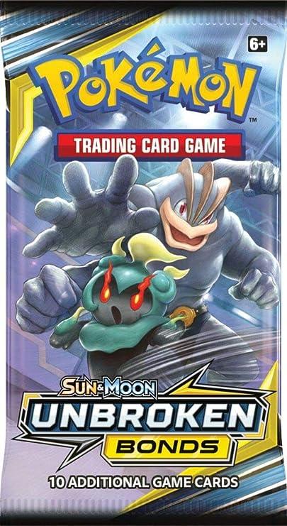 Pokemon Unbroken Bonds TCG Sun /& Moon lot 8 Factory Sealed Booster Packs!