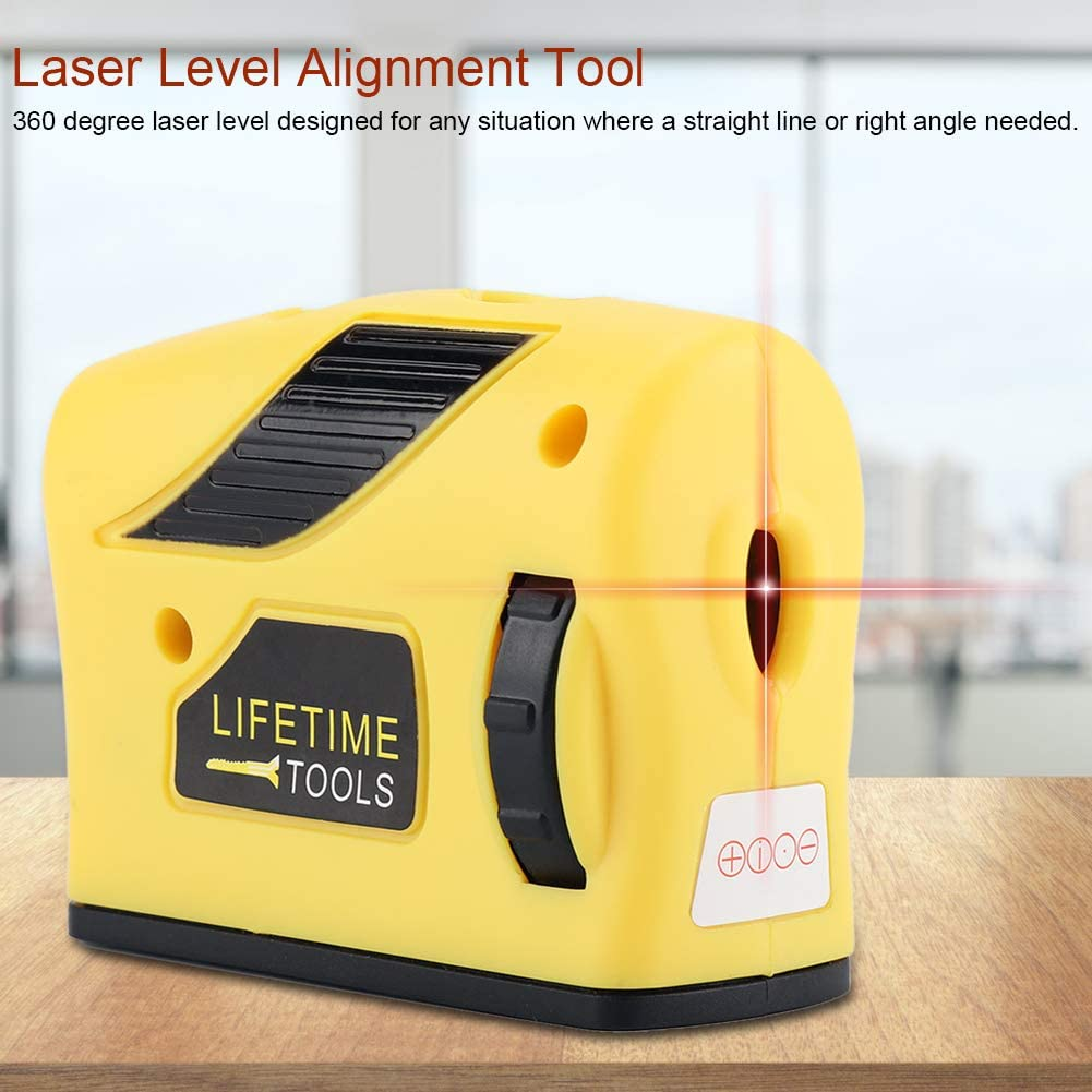 Nivel l/áser l/ínea punto de nivel l/áser herramienta de ajuste de alineaci/ón de autonivelaci/ón vertical horizontal transversal