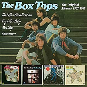 Box Tops Letter Neon Rainbow Cry Like A Baby Non