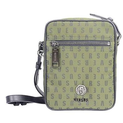 aaaa259e48 Versace Mini Crossbody Nylon Green Bag One Size  Amazon.co.uk  Shoes ...