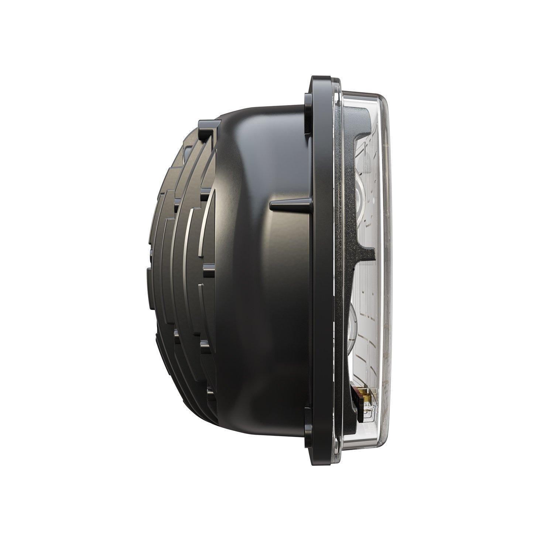 JW Speaker 0554481 Black 8910-Ev2 12//24V Dot//Ece Rht HTD