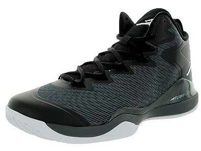 sale retailer 1f837 4ace6 Jordan Nike Men s Super.Fly 3 Black White Dark Grey Basketball Shoe 11