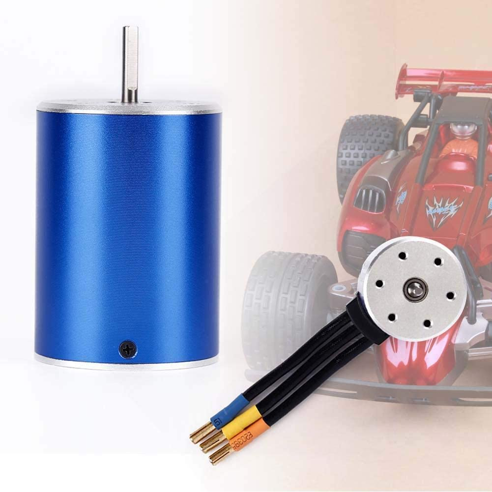Part & Accessories High Efficiency 3900KV Brushless Slotless Electric Motor for 1/10 Racing Car 61AcBBZOpVL