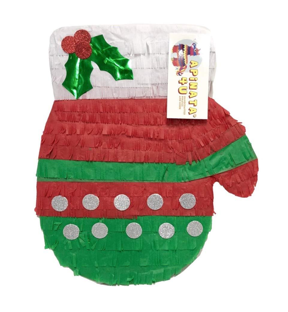 Christmas Mitten Pinatas