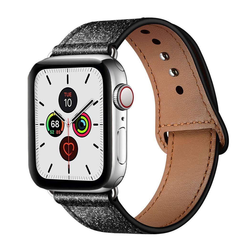 Malla Cuero para Apple Watch (42/44mm) YALOCEA [7XD38H4R]
