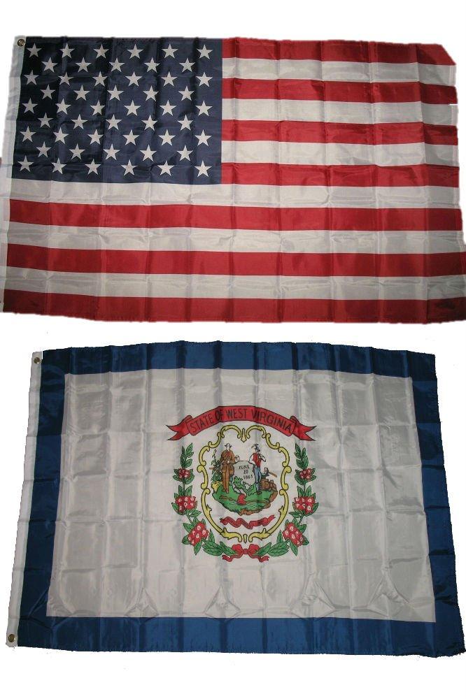 福袋 3 x 3 Wholesale 5 American 3 ' x5 ' Wholesale Lotコンボ: USA American W/ウェストバージニア州の状態フラグ B01N5LTQ63, ラビエ:ea85126c --- umniysvet.ru