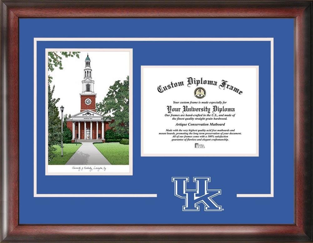 Amazon.com : Kentucky Wildcats UK Alumni Mahogany Diploma Frame ...