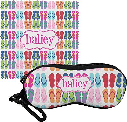 FlipFlop Eyeglass Case & Cloth (Personalized)