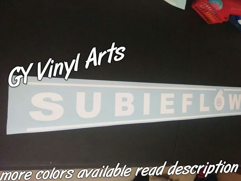 Supersticki Subaru Subieflow Windshield Banners Windshield Aufkleber Decal Hintergrund Maße In Inch S Cars Stickers Vinyl Graphics Ej20 Wrx Sti Brz Turbo Auto