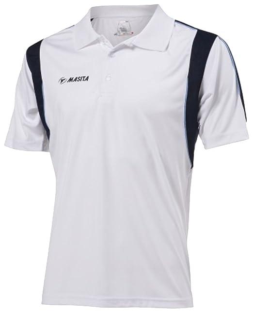 Masita Herren Polo Multi Sport Running Top Hälfte gezackte Abschlüsse  gestreift Casual Shirts: Amazon.de: Sport & Freizeit