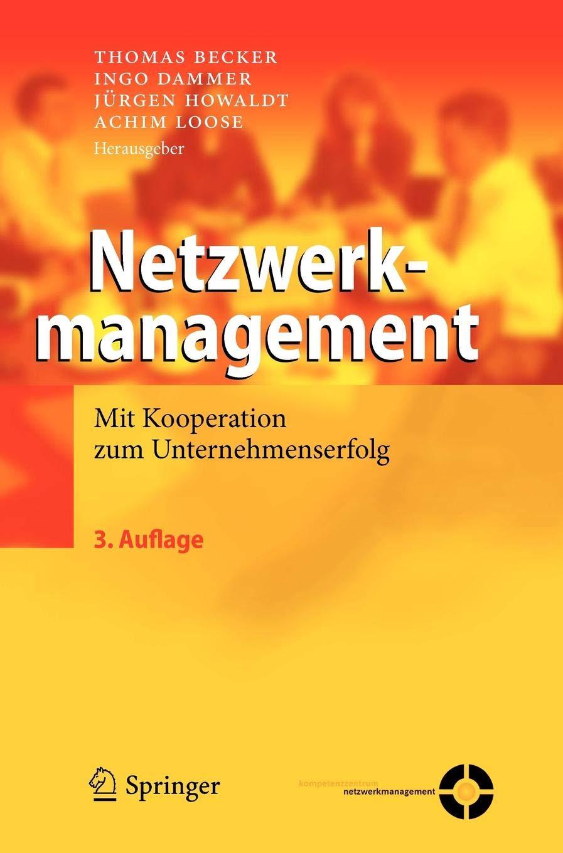 Download Netzwerkmanagement Mit Kooperation Zum Unternehmenserfolg