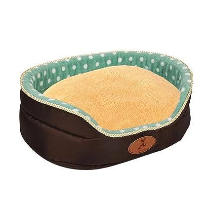 Cama para mascotas Felpa Lavable Deluxe Cómoda Cama de Perro cómoda Cat Waterloo extraíble Cojín CHENGYI