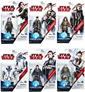 Star Wars: The Last Jedi Orange 3 3/4-Inch Action Figures Wave 2 SET