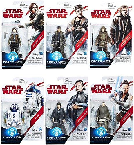 Star Wars: The Last Jedi Orange 3 3/4-Inch Action Figures Wa