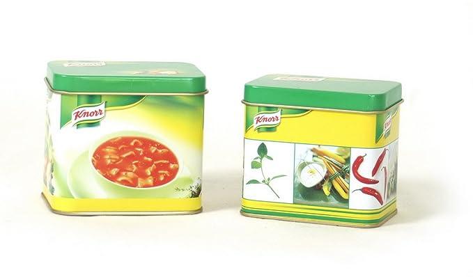 Jouetprive-Dinette boîte en métal Knorr