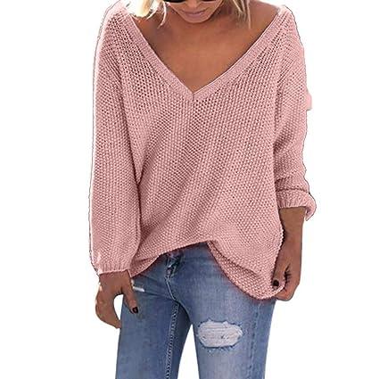 Amazoncom Clearance Sale Long Sweaters Womens Long Sleeve V Neck