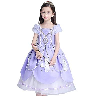 98e108a1f1a20 (フォーペンド)Forpend ソフィア ドレス コスチューム なりきりキッズドレス ロング 子供 お姫様 プリンセス 女の子 ワンピース