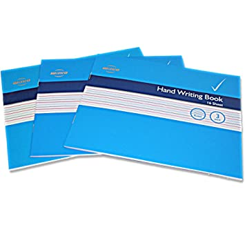 Wilko Handwriting School Exercise Books Pack of 3