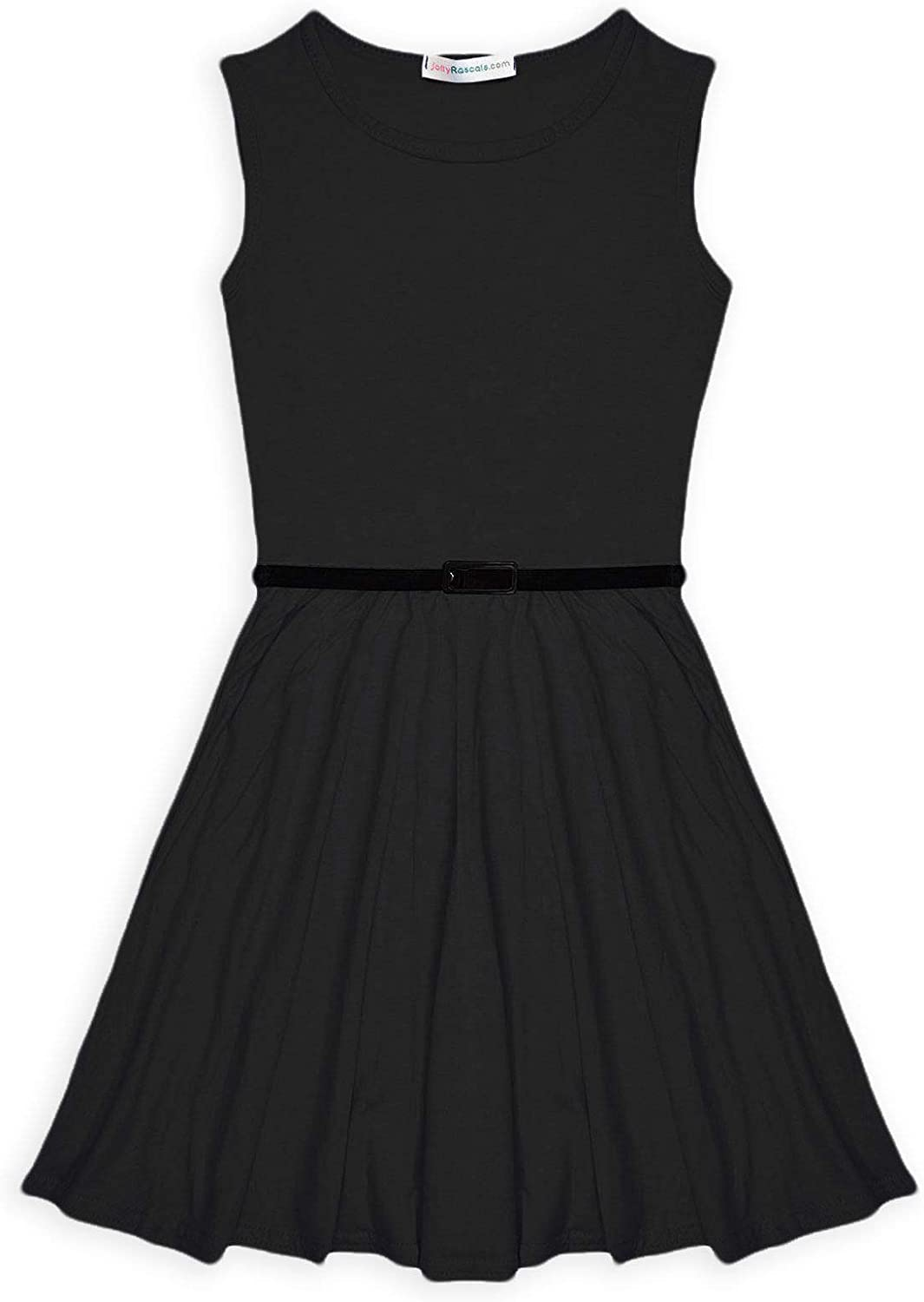jolly rascals Girls Skater Dress Kids New Party Summer Dance Dresses Ages 5 6 7 8 9 10 11 12 13 Years