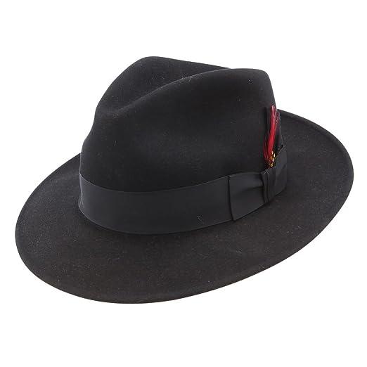 Stetson Gurnee - Wool Fedora Hat at Amazon Men s Clothing store  1f2ffdb7e4a8