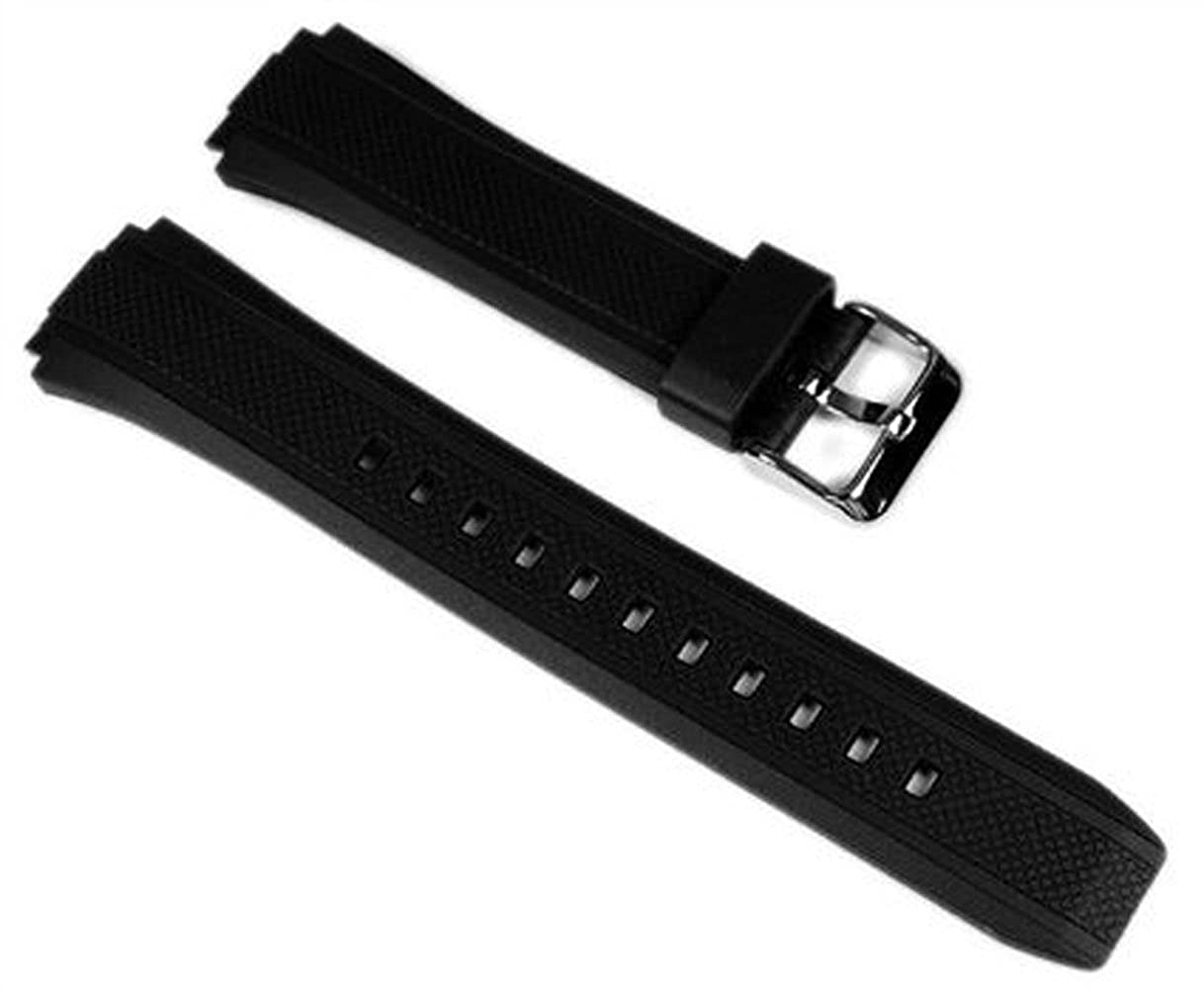c5c5000a0d9c Amazon.com  Casio 10357533 Genuine Factory Replacement Resin Watch Band  fits EF-552-1AV EF-552PB-1A2V EF-552PB-1A4V  Watches