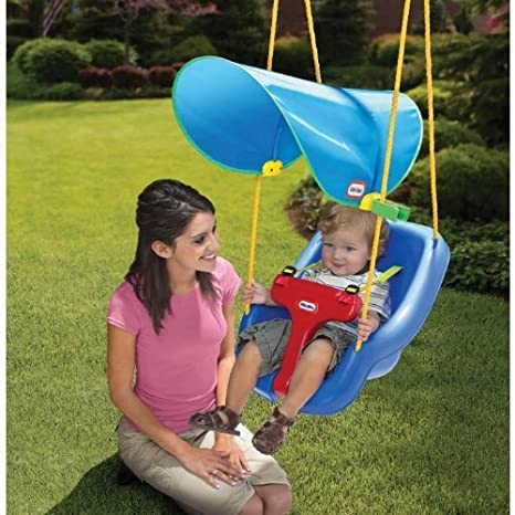 Image Unavailable. Image not available for. Color Little Tikes Sun Safe Swing Canopy  sc 1 st  Amazon.com & Amazon.com: Little Tikes Sun Safe Swing Canopy: Toys u0026 Games