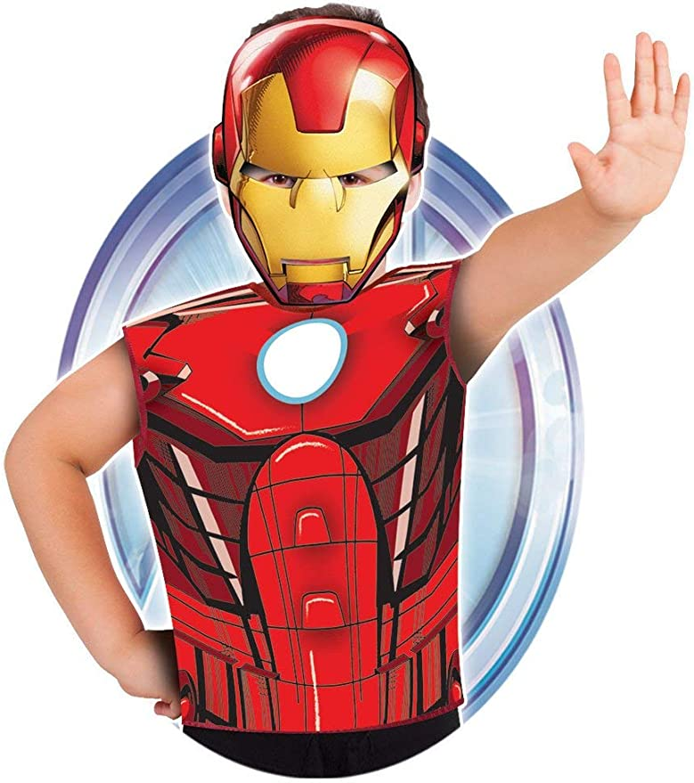 Marvel - Disfraz de Iron Man set de fiesta camiseta + máscara ...