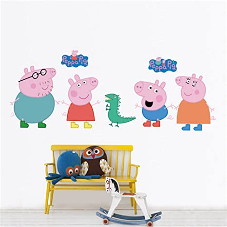 Peppa Pig Removable Wall DecalStricker Wall Stickers Murals