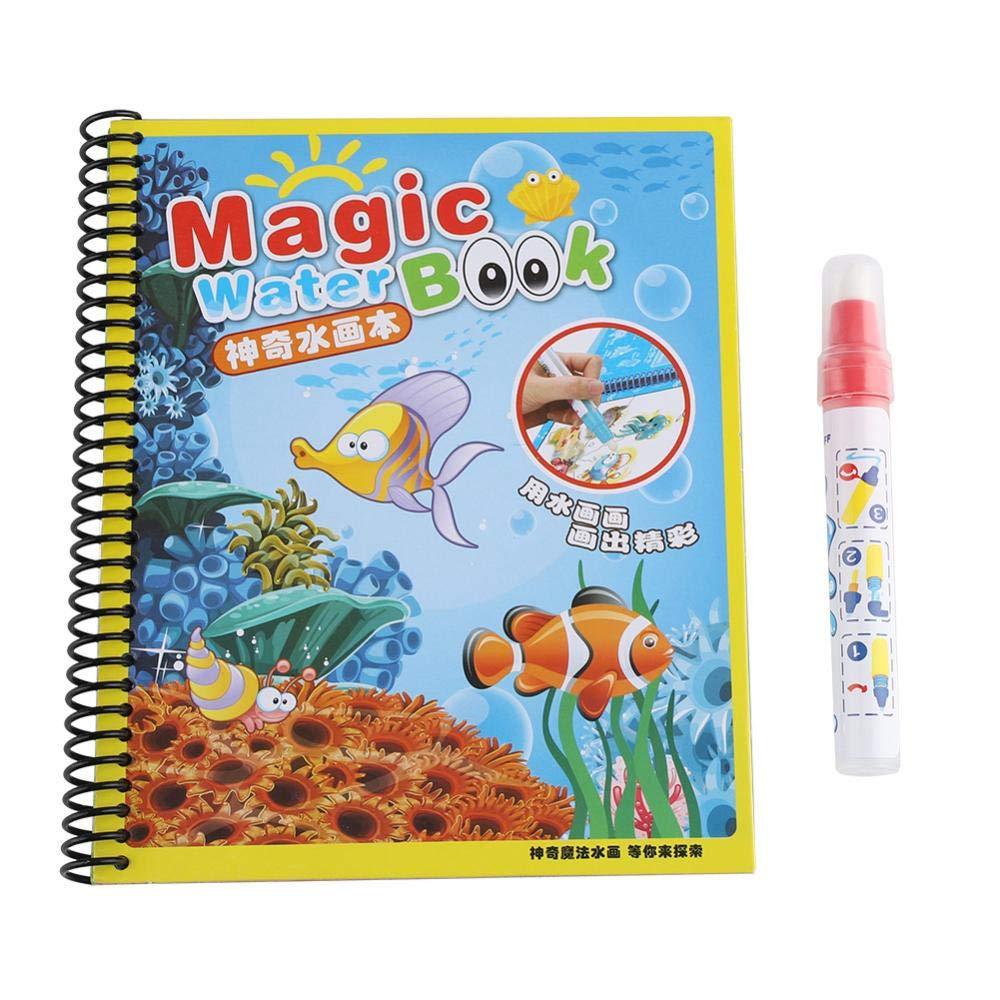 #2 Hztyyier Libri da colorare magici Dipinti ...
