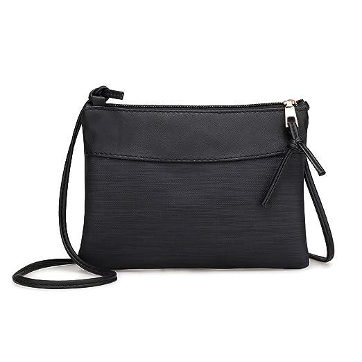 7cc3fcfe20b Amazon.com: DENER❤ Women Ladies Girls Leather Shoulder Bag ...