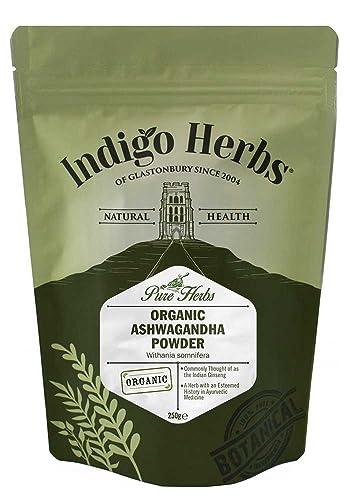 Organic Ashwagandha Powder - 250g (Certified Organic)