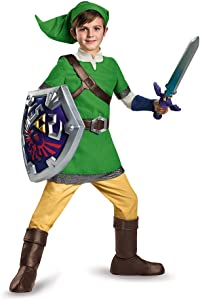 Link Deluxe Child Costume, Small (4-6)